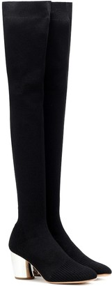 Proenza Schouler Stretch-knit over-the-knee boots