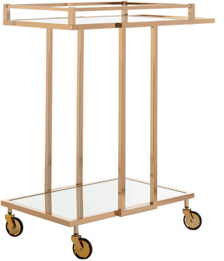 Safavieh Capri 2-Tier Rectangle Bar Cart