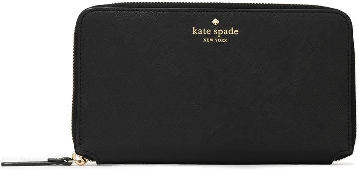 Kate Spade (ケイト スペード ニューヨーク) - Kate Spade New York テクスチャードレザー コンチネンタルウォレット