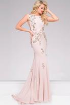 Jovani Jersey Embellished Prom Dress 42296