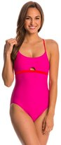 Speedo Keyhole One Piece 7535816