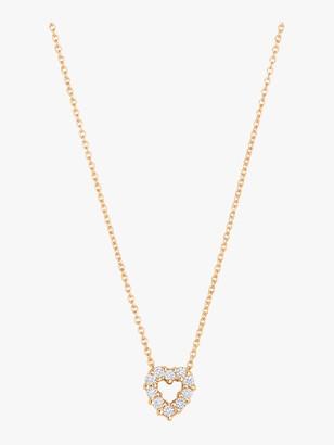 Roberto Coin Diamond Heart Pendant Necklace