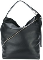 Proenza Schouler Medium Pebbled Leather Zip Hobo