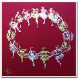 "Trademark Fine Art 14 in. x 14 in. ""Nutcracker Necklace"" by Lowell S.V. Devin Printed Canvas Wall Art"