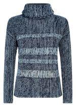 AG Jeans Open Weave Roll neck Jumper