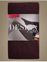 M&S Collection Cotton Rich Heavyweight Opaque Tights