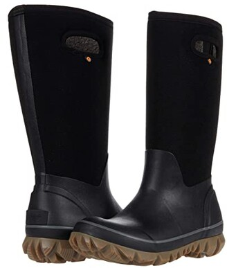 Bogs Whiteout Woven (Black) Women's Boots