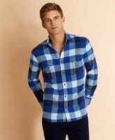 Brooks Brothers Plaid Heavy Flannel Shirt