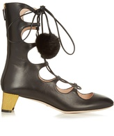 Gucci Heloise lace-up leather boots