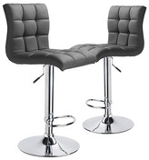 Adjustable Martini High Back Swivel Barstools
