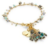 Thumbnail for your product : Gas Bijoux Gipsette 24K Goldplated Beaded Charm Bracelet