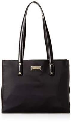 Calvin Klein Tatiana Nylon Top Zip Small Shoulder Bag Tote