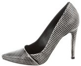 Proenza Schouler Textured Pointed-Toe Pumps w/ Tags