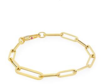Roberto Coin Designer 18K Yellow Gold Oval-Link Bracelet