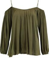 Bailey 44 Boho Cold-Shoulder Jersey Top
