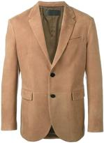 Neil Barrett leather blazer