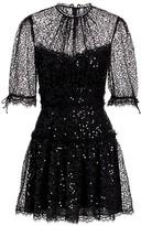 Jonathan Simkhai Sequin & Lace Mini Dress