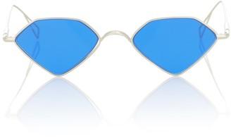 Acne Studios Pentagonal metal sunglasses