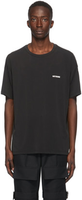 we11done Black Modal Oversized T-Shirt