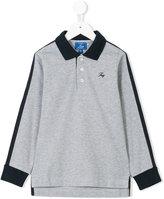 Fay Kids long sleeved polo shirt