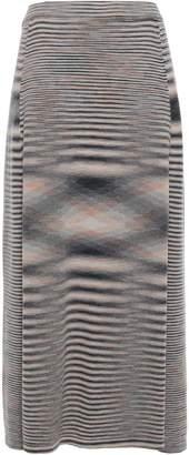 Missoni Marled Cashmere Midi Skirt