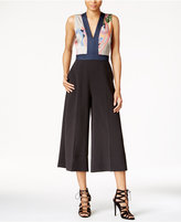 Rachel Roy Wide-Leg Cutout Jumpsuit