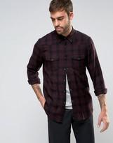 Asos Regular Fit Western Check Shirt