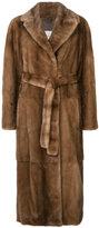 Yves Salomon full-length coat