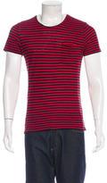 The Kooples Striped Short Sleeve T-Shirt