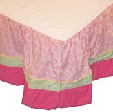 Kids Line Tiger Lily Crib Bedding Collection - Dust Ruffle