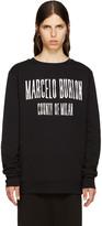 Marcelo Burlon County of Milan Black El Misti Pullover