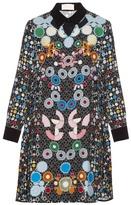 Peter Pilotto Ace geometric-print crepe dress