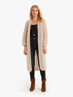 Maiami Mohair Slim Coat Beige