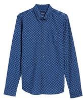 Scotch & Soda Men's Slim Fit Allover Print Shirt