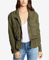 William Rast Patsy Peplum Utility Jacket