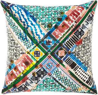 Christian Lacroix Talisman Multicolored Pillow