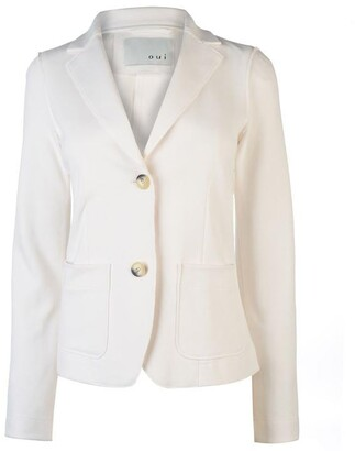 Oui Button Up Blazer Ladies