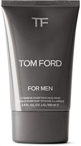Tom Ford Intensive Purifying Mud Mask, 100ml - Men - Black
