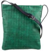 Salvatore Ferragamo Gamma Leather Messenger Bag w/ Tags