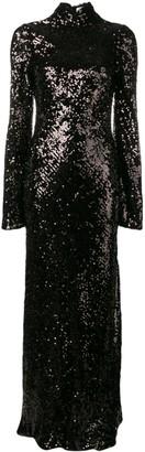 Galvan Moonlight Oasis long dress