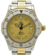 Tag Heuer 2000 Professional200 974.008 Stainless Steel & Gold Plated Quartz 28mm Women