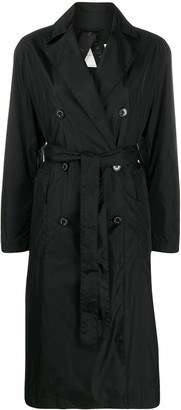 MACKINTOSH Water Repellent Belted Trench Coat