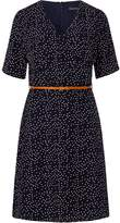 Sugarhill Boutique Ronah Wrap Polka Knee Length Dress