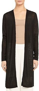 Theory Torina Open-Front Long Cardigan