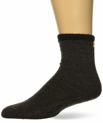 Dearfoams Women's Marled Knit Cabin Sock Slipper