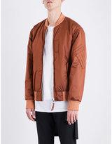 Helmut Lang Reversible shell bomber jacket