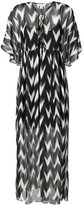 Rachel Zoe printed dress - women - Silk/Polyester - XS