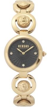 Versus By Versace Women's Peking Road Petite Gold-Tone Stainless Steel Bracelet Watch 28mm