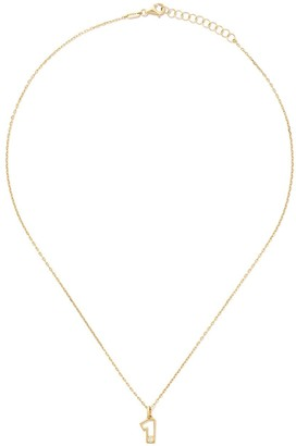 As 29 14kt yellow gold diamond One necklace