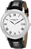 Raymond Weil Men's 54661-Stc-00300 Quartz Stainless Steel White-Dial Watch